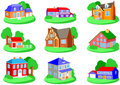 Houses Stock Image