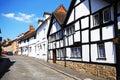Houses along mill street warwick old tudor style warwickshire england uk western europe Stock Photography