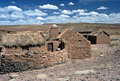 Houses on Altiplano in Bolivia,Bolivia Royalty Free Stock Photography