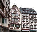Houses in Bernkastel-Kues Royalty Free Stock Images