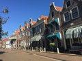 Houses in Blokzijl Royalty Free Stock Photo