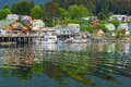 Houses and Businesses, Sitka Alaska Stock Photography