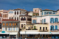 Houses in Chania, Greece Royalty Free Stock Image