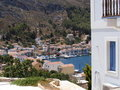 Houses on Greek Island of Kastellorizo/Meyisti Stock Images