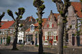 Houses in Hasselt Royalty Free Stock Photography