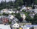 Houses In Ketchikan, Alaska 2 Royalty Free Stock Photography