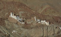 Houses of local residents in Ladakh Royalty Free Stock Photo