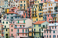 Houses in Manarola Royalty Free Stock Photography
