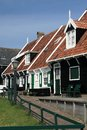 Houses in marken typical wooden traditional fisherman s village near amsterdam netherlands Stock Photos