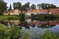 Houses of Nyborg Denmark Royalty Free Stock Photo