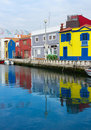 Houses in old town of Aveiro, Portugal Royalty Free Stock Image