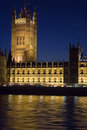 The Houses of Parliament Stock Photo