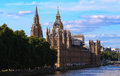 Houses of Parliament and Big Ben in Westminster, London. Royalty Free Stock Photo