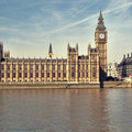 Houses of Parliament, London. Royalty Free Stock Photos
