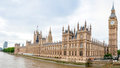 Houses of parliament in london england Stock Image