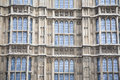Houses of parliament westminster london facade england uk Stock Photos
