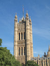 Houses of parliament westminster palace london gothic architecture Royalty Free Stock Photography