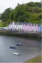 Houses in Portree Stock Photo