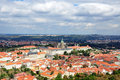 Houses of Prague Royalty Free Stock Images