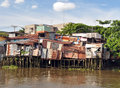 Houses Beside The Saigon River...