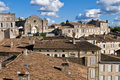 Houses of Saint Emilion Royalty Free Stock Photography