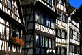 Houses in Strasbourg Petite France Royalty Free Stock Photos