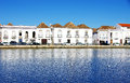 Houses at Tavira, Portugal Royalty Free Stock Photo