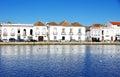 Houses at Tavira, Portugal Royalty Free Stock Photo