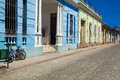 Houses in Trinidad, Cuba Stock Photography