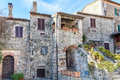 Houses in tuscany Royalty Free Stock Photo