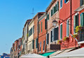 Houses in Venice Royalty Free Stock Images