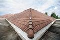 Housetop under building in kingmongkut university Stock Image