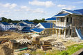 Housing Construction Site, Brunei Stock Photography