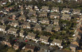 Housing estate aerial view of Royalty Free Stock Photos