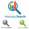 Housing logo concept symbol illustration Stock Images
