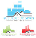 Housing logo concept symbol illustration Stock Photography