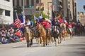Houston Livestock Show and Rodeo Parade Royalty Free Stock Photo