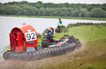 Hovercraft Racing Royalty Free Stock Photography
