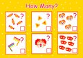 How many games to count, purim holiday elements for children, educational mathematical tasks for the development of logical