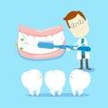 How to brush teeth