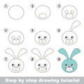 How to draw a Hare Head