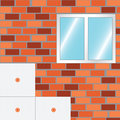 How to insulate a wall strat insulate vector Royalty Free Stock Photos