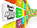 How is Your Mood Emotions Feelings Indicator Royalty Free Stock Image