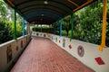 Howard beach resort hotel an external corridor taiwan island the southernmost hengchun peninsula Royalty Free Stock Photos