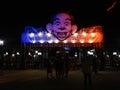 Howl-O-Scream at Busch Gardens Royalty Free Stock Photo
