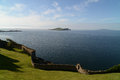 Howth panorama fantastic view from the cliff path at dublin ireland Stock Image
