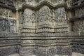 Hoysaleshwara Hindu temple,India Stock Image