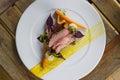 72 hr rare beef short rib Royalty Free Stock Photo