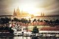 Hradcany in Prague. Royalty Free Stock Photo