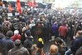 Hrant dink memorial in istanbul turkey jan journalist funeral on january turkey Stock Photo